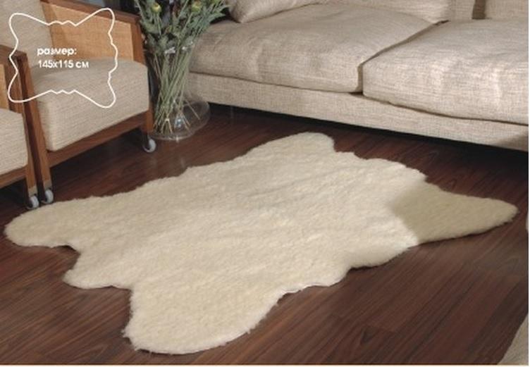 Меховой коврик на пол своими руками